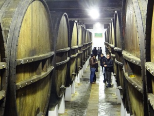 A popular Basque cider house