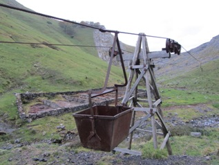Old copper mines: pulley system_basquecountrywalks